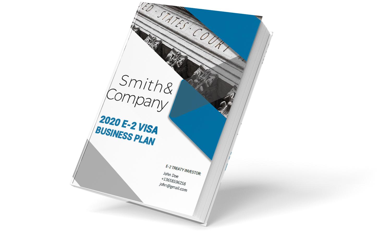 E-2 cover business plan 2-1