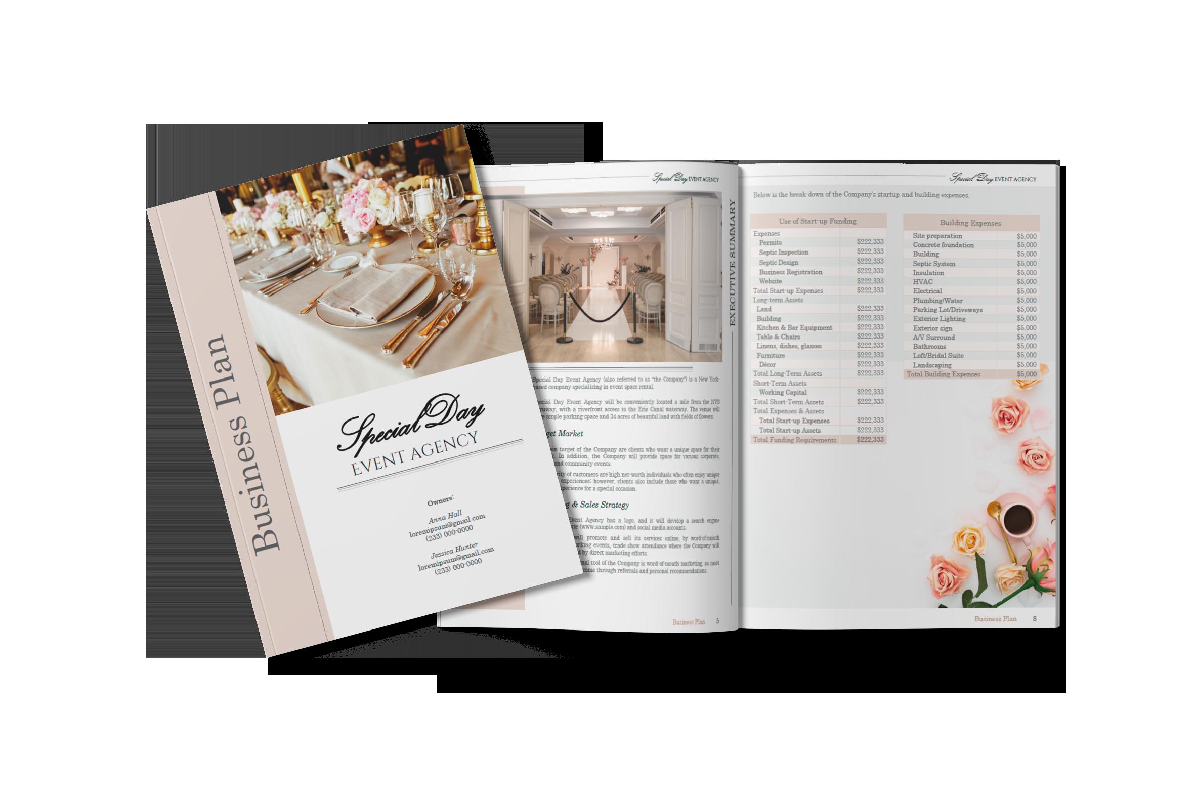 sba business plan sample-1